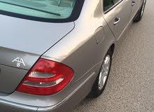 مرسيدس E240. موديل 2005.