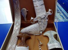 خنجر سعيدي مع نصلتين عمانيه
