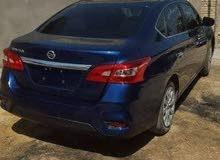 Automatic Blue Nissan 2017 for sale