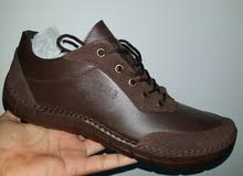 حذاء تركي خامه نضيفه اللون بني