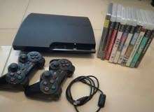 PlayStation 3+ 9 games and 3 controllers...
