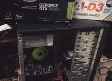 كيس بمواصفات عالية Gtx 1050ti