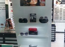 للبيع ديكور محل نظارات