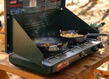 Coleman Gas Camping Stove  Classic Propane Stove, 2 Burner, 4.1 x 21.