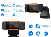 ويب كام للكمبيوتر USB WEBCAM Full HD Webcam 1080p