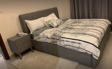 Bed in King Size with Mattress