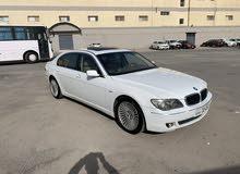 BMW 730il alghanem اكبر حجم الدرجه الاولي شرط الفحص كامل المواصفات صبغ الوكاله