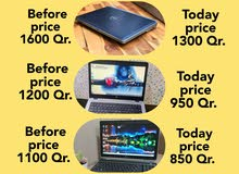 Unbelievable price drop offers for used laptops.  For better conversation please