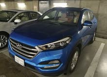 2018 Blue Hyundai Tucson 2.0L for sale, 17,000 KM only