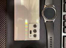 Samsung Galaxy Note20 Ultra White 256 GB + Samsung Galaxy Watch + Samsung Galaxy Buds Live Black