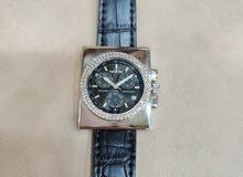 ساعة الماس اصلي aquamarin