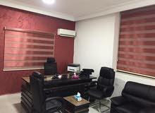 مكاتب للايجار  صيانه جديده وشهر مجانآ  باجمل مناطق عمان الغربيه