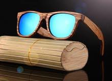 نظارة خشبية شمسية