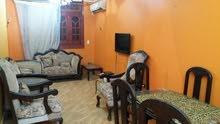 شقة للايجار مفروش 100م 2غرف  اول سكن ب4000ج ش الملكة فيصل
