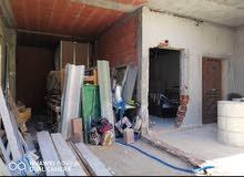للبيع منزل بالمنيهله حديث البناء غير مكتمل