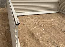 زيادة الباب الاتوماتيك  للخارج بحدود  1 متر