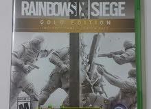 دسكة xbox one للبيع  rainbow six siege