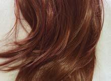 شعر مستعار يتوفر الوان واطوال مختلفة