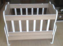 سرير أطفال مواليد بسعر مناسب جدا للعلم اخر 4اطروف فقد