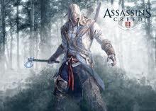 مطلوب لعبة assassin's creed 3 للبيع ps4