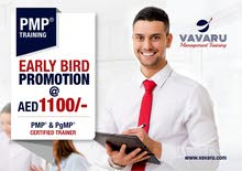 Early Bird Promotion! PMP Certification-Vavaru Training