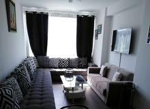 شقة مفروشة بحي حومة السوسي بطنجة غرفتان وصالون ومطبخ وحمام