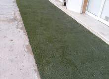 إعلان لأصحاب المحلات و المنتزهات والإستراحات يوجد بساط عشب اصطناعي مستعمل للبيع