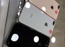 256& iphone  8+ 64  بحالة الجديد بسعر راااائع مع كفالة