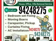 We have best team of Moverd and packers. We shift villas house and offices.  We