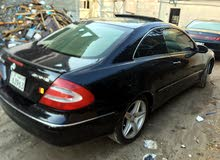 Black Mercedes Benz CLK 2003 for sale