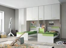 تصميم و تنفيذ خزائن الملابس و الدواليب وغرف النوم