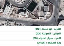 ارض سكنيه للبيع في عمان ابو علندا اسكان الكهرباء