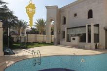 شبه قصر فاخر للبيع في الاردن - عمان - عبدون