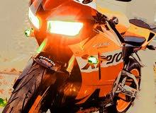 Honda motorbike made in 2013