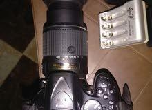 باكدج كا مل كاميرا نيكون d5200 وارد الخارج كسر زيرو