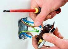 كهربائي منازل وسبوت وصيانة عامة