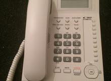 هاتف ارضي بانسونيك يركب علي البداله عادي ويمشي ارضي  كزيوني