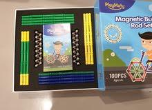 لعبة مغناطيس فاخره و جديده منAmazon لشركة PlayMaty مع العلبه غير مستعمله