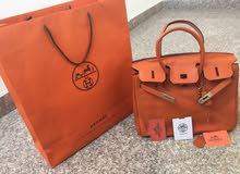 Hermes Birkin Orange Authentic Bag