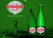 من أعماق البوسنة - مياه معدنية غازية طبيعية غنية بالمعادن ( شامل التوصيل )
