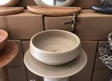أطقم خزف صينية مصنوعة تحت درجة 4000 مئوية إلى 5000 خلاطها مصنوع من النحاس والطاق
