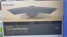شاشة منحنية 27 بوصة سامسونج NEW Curved Samsung 27 Inches Monitor