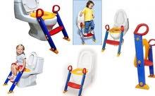 سلم ومقعد حمام للاطفال