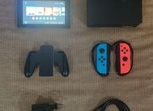 جهاز نينتندو سويتش مستعمل نظيف used nintendo switch