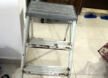 two ladders of steel and aluminum ( short and tall )
