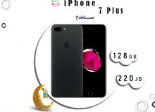 iPhone 7Plus 128G  مستخدم مكفول