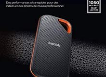 SanDisk 2TB Extreme PRO Portable External SSD - Up to 1050MB/s - USB-C, USB 3.1