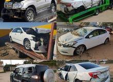 شراء جميع انواع السيارات الحديثه التي بها حوادث فقط الاستفسار:----092334
