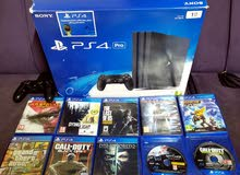 Ps4 pro New 1tb for sale with more Than 20 ganes