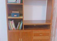 مكتبه وميز تلفزيون